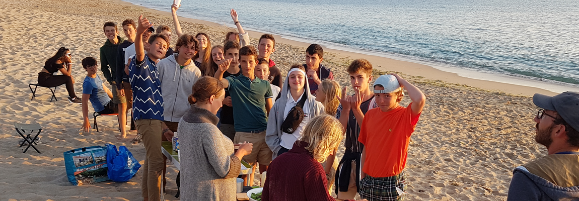 Soirée sur la plage – Ados